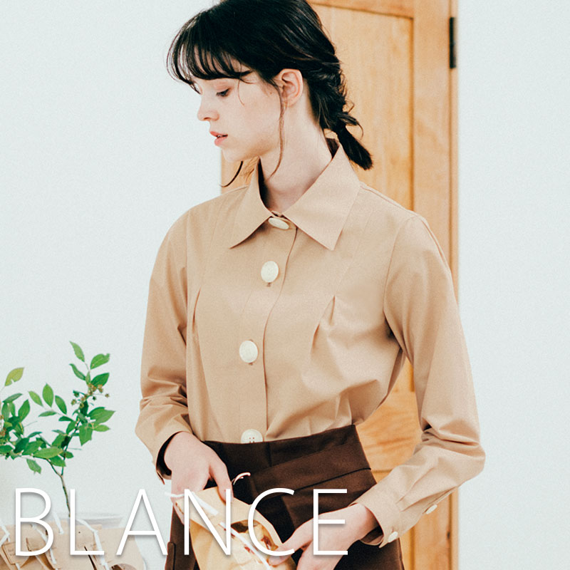 トップス, シャツ・ブラウス  BW8002 BLANCE MONTBLANC