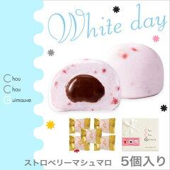 【ホワイトデー特集,お返し,マシュマロ】イチゴのフリーズドライを練りこんだ苺風味のマシュマ...