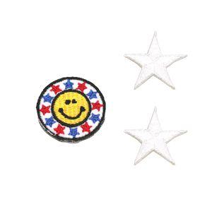【 刺繍ワッペン 3個セット】ワッペン 刺繍 アイロン フェルト デコ 接着 作り方 子供 ママ 幼稚園 キッズ メール便可 アレンジ 手作り アップリケ ミシン手芸 雑貨 人気 カワイイ フルーツ 果物 10P03Dec16 楽天カード分割
