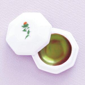 紅花染新田紅皿(携帯用)サイズ:直径約3.5cm、深さ約0.6cm