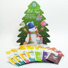 クリスマスまで24種類のハーブティーや紅茶で楽しみませんか?レーベンスバウム アドベントカレ...