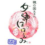 【TVで紹介された話題の新品種】29年産 愛知県のお米 女神のほほえみ 5キロ入り