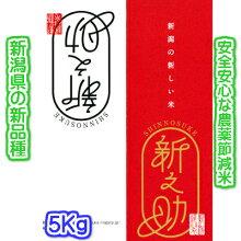 新之助(特別栽培米)5K