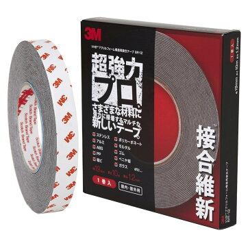 3M(スリーエム) VHB 超強力構造用接合テープ 接合維新 19mm×10m [BR-12 19×10]
