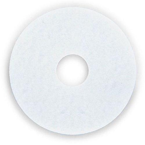 3M(スリーエム) スコッチブライト ホワイトスーパーポリッシュパッド 610mm(24in) 5枚:ISM