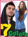【オルタナティブ アパレル】 エコヘザー ジップ パーカー Alternative Apparel Eco-Heather Zip Hoodie メンズ & レディース