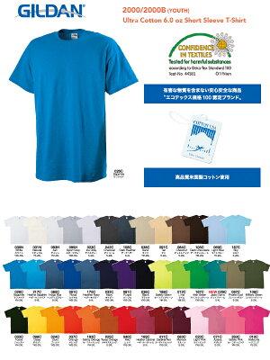 ギルダンGILDANTシャツ半袖メンズカラー(その1)20色2XL〜3XLサイズ#2000UltraCotton6.0ozShortSleeveT-ShirtAdult