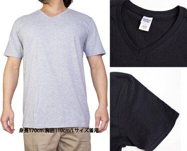 ギルダンGILDANVネックTシャツメンズカラーS〜XLサイズ#64v00Softstyle4.5ozShortSleeveV-NeckT-Shirt