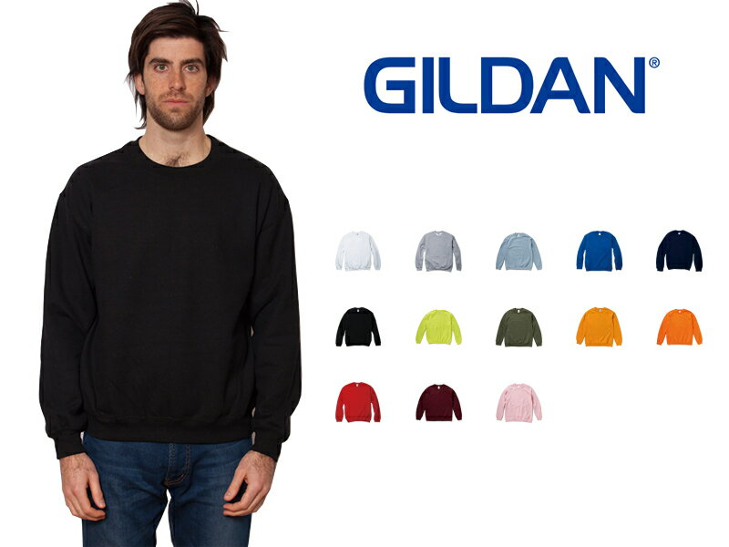 トップス, スウェット・トレーナー  XXL GILDAN Heavy Blend 8.0 oz Crewneck Sweatshirt 18000 Adult