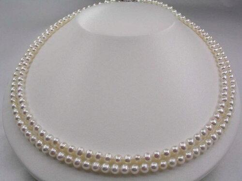 淡水真珠 ロングネックレス 5.5-6mm ホワイトピンク SV シルバー クラスップ 901 イソワパール