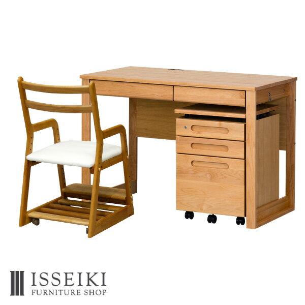 ISSEIKIKIDS【SET】L-DESK+WA+LIFE(WH)3SET