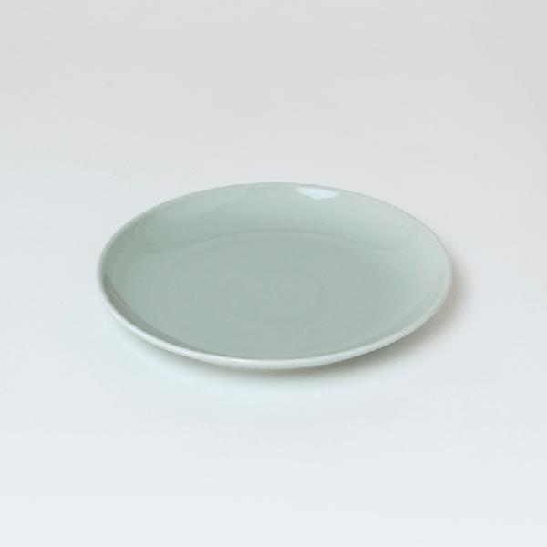 【合計5000円以上のご購入で送料無料】皿おしゃれガラス北欧波佐見焼食器可愛いワンプレートカフェプレートうつわ波佐見カラフル中皿大皿洋食器ギフト新生活イエローコモンCommonプレート21cm(GY)234-00020
