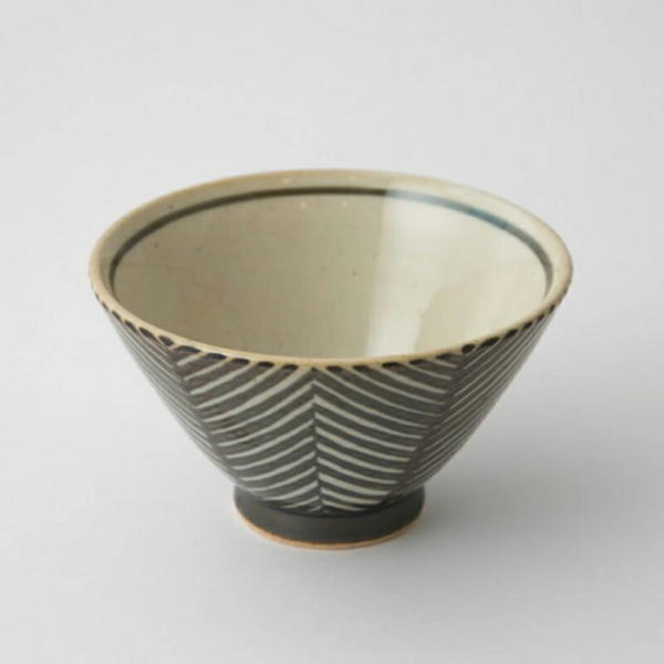 aiyuアイユー茶碗波佐見焼陶磁器ダイニングキッチン器食器うつわかわいいヘリンボンお祝いギフトプレゼントヘリンボーン