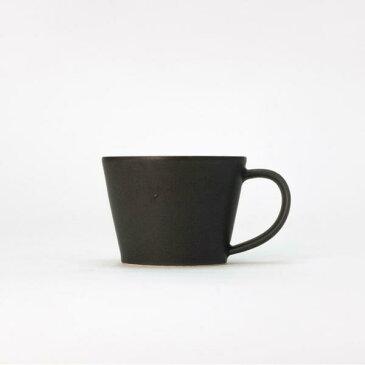 【合計5000円以上のご購入で送料無料】 SAKUZAN サクザン コーヒーカップ カップ マグ 美濃焼 ダイニング キッチン おしゃれ シンプル かわいい 嬉しい お祝い ギフト プレゼント 黒 ブラック SAKUZAN Sara Coffee Cup 238-00009