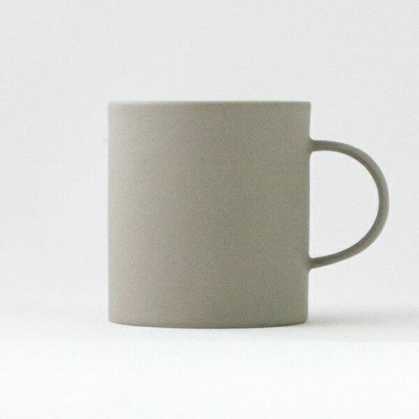【合計3980円以上ご購入で送料無料】マグカップ カップ コップ 取っ手付き 食器 せっ器 おしゃれ オシャレ シンプル 可愛い インテリア 雑貨 シック カフェ 北欧 キッチン カラー 灰色 STONEWARE MUG 330グレイ 261-00047