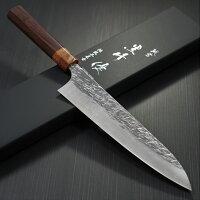 包丁牛刀210mm黒崎優コバルトスペシャル鍛造越前打刃物日本製