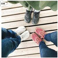 足袋型シューズNewラフィート(ワインレッド)【ウォーキングシューズ】【ジョギングシューズ】【外反母趾】【足袋】【スニーカー】【陸王シューズ】【岡本製甲】