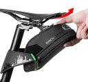 【送料無料】ROCKBROS(ロックブロス)自転車 サドルバッグ ロードバイクサドルバック 大容量 防水 フレー...