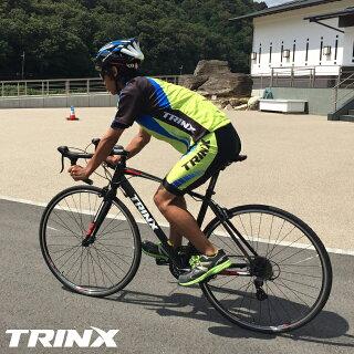 TRINXロードバイク軽量モデルR600デュアルコントロールSHIMANOSTITourney14速コストパフォーマンスモデルロードレーサー