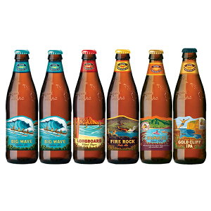人気のハワイビール飲み比べセット コナビール 5種類6本セット 本州送料無料 四国は+200円、九州・北海道は+500円、沖縄は+3000円ご注文後に加算 父親 誕生日 プレゼント