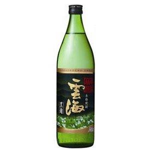 [宮崎県 雲海酒造] 雲海 そば焼酎 黒麹 900ml×1本