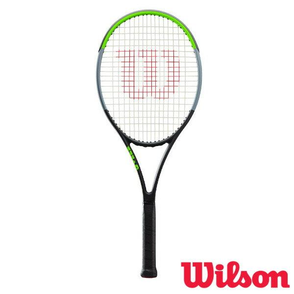 テニス, ラケット 1520198 Wilson BLADE 104 V7.0 WR013911S