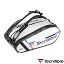 《送料無料》Tecnifibre TOUR ENDURANCE WHITE 15R ツアーエンデュランス ホワイト15R TFB090 テクニファイバー テニス バッグ