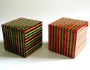 重箱 3段 独楽ライン |モダンでおしゃれな三段の小さいお重...