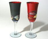 【送料無料】漆塗りペアフルートグラス<漆器の井助>シャンパングラス ペアグラス 結婚祝い(結婚のお祝い)、結婚記念日、内祝い(内祝)やお返し(お祝い返し)、外国人へのお土産に。食器