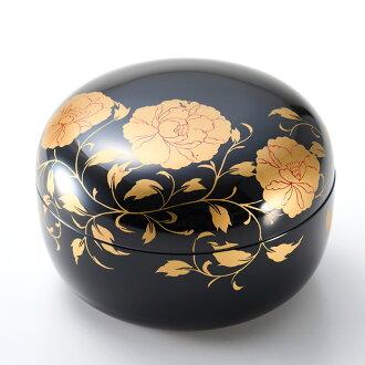 Japanese lacquerware ボンボニエール Bonboinier black