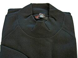 98044長袖ハイネックシャツ(裏起毛)