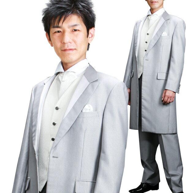 fe0ae1a3aa0f3  シャルルジョルダン シルバーフロックコート レンタル タキシード レンタル 新郎 レンタルタキシード 結婚式 スーツ