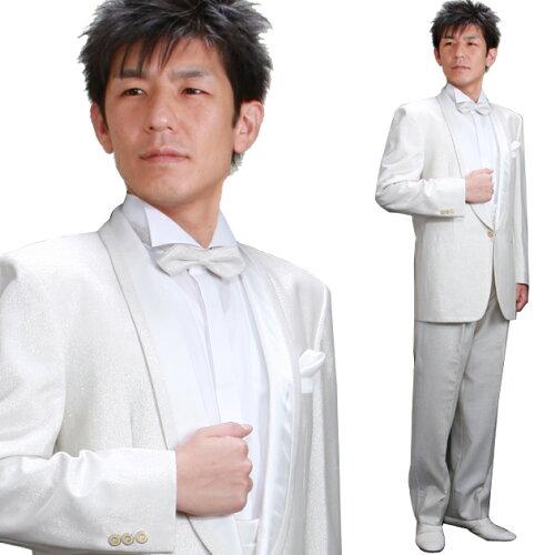 タキシード 白 レンタル 結婚式 新郎 レン...