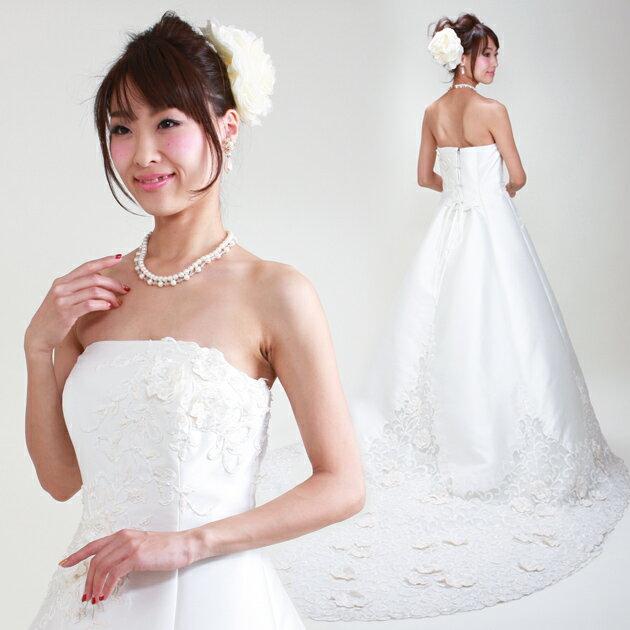 【ウェディングドレス 13号-17号】【Aライン】ウエディングドレス ドレス 貸衣装 海外挙式 海外ウェディング リモ婚 安い 格安 6420 【送料無料】【fy16REN07】【レンタル】