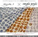 Ryota.I×conges payes『Pebble flower』コットン100%Wガーゼプリント素材:コットン100% 生地幅:約105cmダブルガーゼ/ベビー/キッズ/女の子/花/生地/綿/ハンドメイド/手作り/ウェアー/小物/
