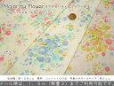 『Majority Flower≪マジョリティーフラワー≫』コットン100%Wガーゼプリント素材:コットン100% 生地幅:約108cm花/ダブルガーゼ/ベビー/キッズ/男の子/女の子/綿/生地/スタイ/マスク/ウェアー/ハンドメイド/手作り/