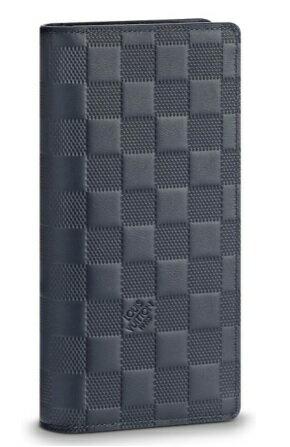 【新品】【ルイヴィトン ポルトフォイユ・ブラザ アンフィニ/ アストラル 】 LOUIS VUITTON N63318 メンズ長財布【Luxury Brand Selection】