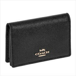 COACH OUTLET コーチ 87731/IMBLK/1 名刺入れ 【Luxury Brand Selection】