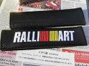 ミツビシMITSUBUSHI-RALLI-ART三菱のシートベルトカバーパッ...