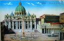 世界に1点!! 30年、50年、100年前のイタリア発行の絵葉書1920年発行のイタリアのローマのサンピ...