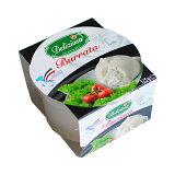 【緊急入荷!】幻のチーズ ブッラータ 125g(デリツィオーザ)Burrata / Deliziosa【オリーブオイルをひとまわししてお召し上がりくださいませ】【4/8(月)ご予約受付締切→4/11(木)発送ご予約商品】【賞味期限4/17】