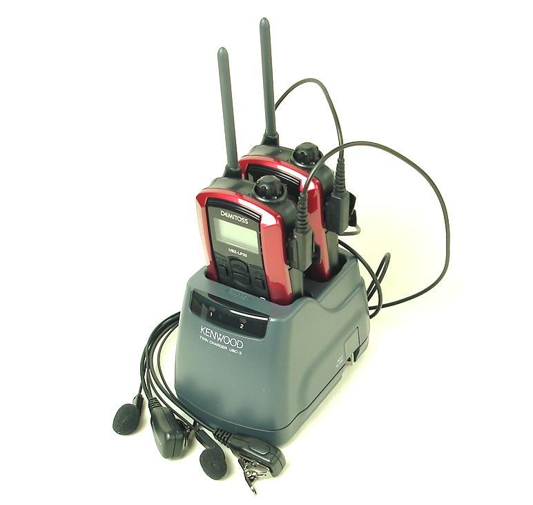 アマチュア無線機, ハンディー機 (2) UBZ-LP20()4x2
