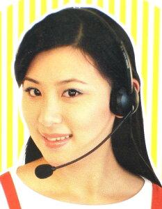一般電話用ハンズフリーヘッドセット TE-02  あす楽対応
