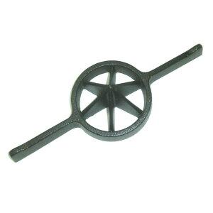 両手竹割り器(鋳物製)内径約95mm 小6ッ割