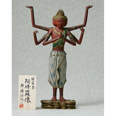 【送料、手数料無料】国宝『阿修羅像』復元塗り仕上げ 桐箱入り KA-1