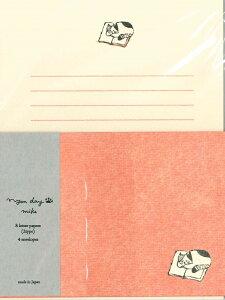 【メール便OK】古川紙工 ネコレターセット NyanDayMike LLL248-400