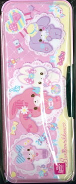 【送料無料】ショウワノート 筆箱 両面筆入れ ボンボンリボン197-7050