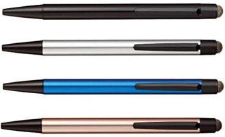 三菱鉛筆ジェットストリームスタイラスシングルノックSXNT823507P33/26/74/244色4本組み