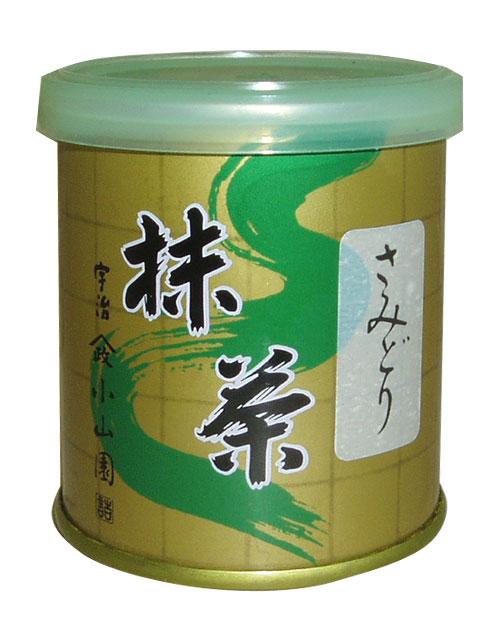 【抹茶】【定形外送料無料】さみどり30グラム缶