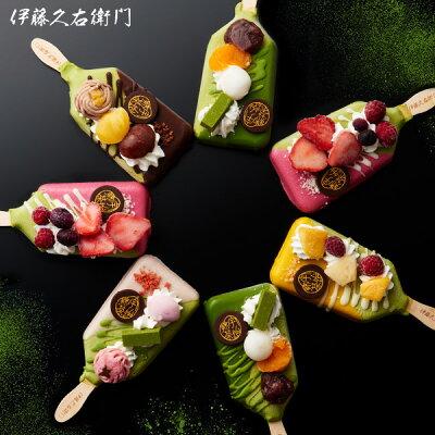 お取り寄せにおすすめの絶品アイス 伊藤久右衛門 抹茶パフェアイスバー